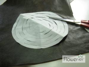 DIY Hanging Planter - leather pattern