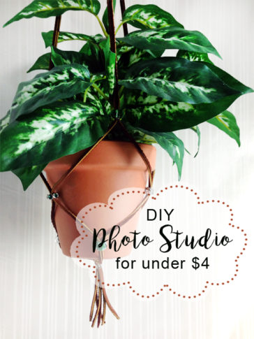 DIY Product Photo Studio – Under $5 from Dollar Tree