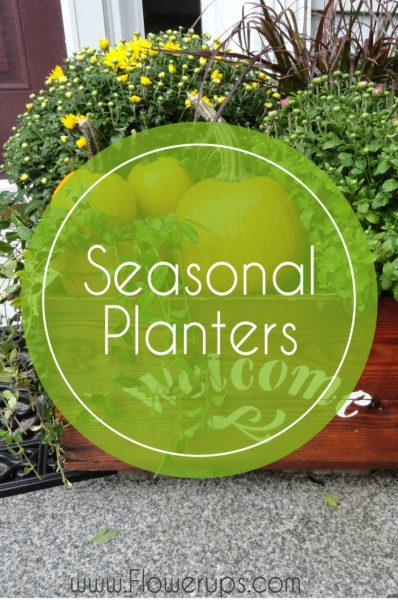 seasonal fall planter windowbox