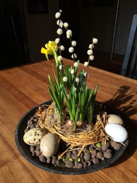 Easter Spring planter garden